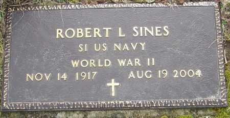 SINES, ROBERT L - Franklin County, Ohio   ROBERT L SINES - Ohio Gravestone Photos