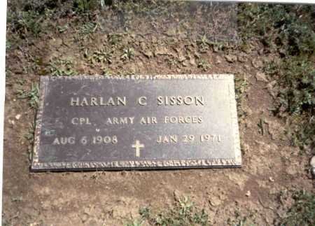 SISSON, HARLAN C. - Franklin County, Ohio | HARLAN C. SISSON - Ohio Gravestone Photos