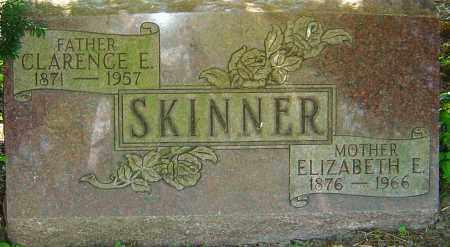 SKINNER, ELIZABETH E - Franklin County, Ohio | ELIZABETH E SKINNER - Ohio Gravestone Photos