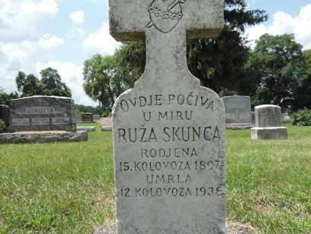 SKUNCA, RUZA - Franklin County, Ohio | RUZA SKUNCA - Ohio Gravestone Photos