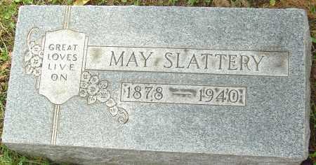 SLATTERY, MAY - Franklin County, Ohio   MAY SLATTERY - Ohio Gravestone Photos