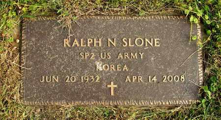SLONE, RALPH N. - Franklin County, Ohio   RALPH N. SLONE - Ohio Gravestone Photos