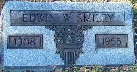 SMILEY, EDWIN W - Franklin County, Ohio | EDWIN W SMILEY - Ohio Gravestone Photos