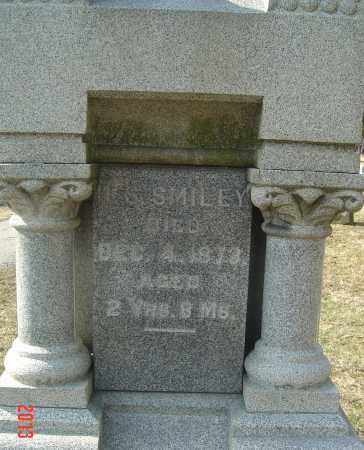 SMILEY, HENRY SYLVESTER - Franklin County, Ohio | HENRY SYLVESTER SMILEY - Ohio Gravestone Photos