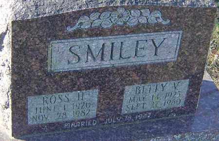 SMILEY, ROSS H - Franklin County, Ohio | ROSS H SMILEY - Ohio Gravestone Photos
