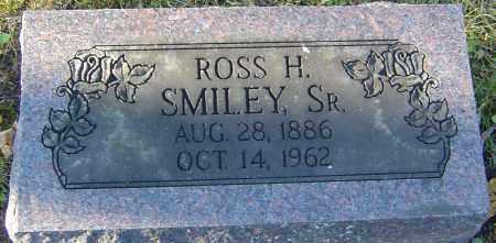 SMILEY SR., ROSS HUBERT - Franklin County, Ohio   ROSS HUBERT SMILEY SR. - Ohio Gravestone Photos
