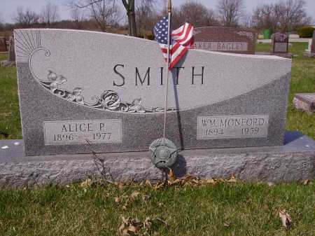 SMITH, ALICE P. - Franklin County, Ohio | ALICE P. SMITH - Ohio Gravestone Photos