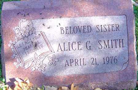 SMITH, ALICE GRACE - Franklin County, Ohio | ALICE GRACE SMITH - Ohio Gravestone Photos