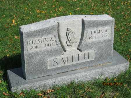 SMITH, CHESTER A - Franklin County, Ohio | CHESTER A SMITH - Ohio Gravestone Photos