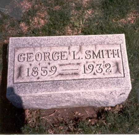 SMITH, GEORGE L. - Franklin County, Ohio | GEORGE L. SMITH - Ohio Gravestone Photos