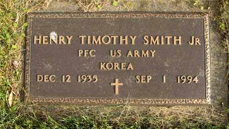 SMITH, HENRY TIMOTHY - Franklin County, Ohio | HENRY TIMOTHY SMITH - Ohio Gravestone Photos
