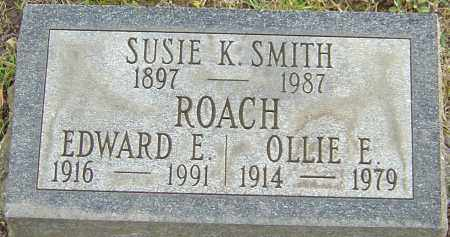 ROACH, OLLIE - Franklin County, Ohio | OLLIE ROACH - Ohio Gravestone Photos