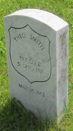 SMITH, THEO - Franklin County, Ohio   THEO SMITH - Ohio Gravestone Photos
