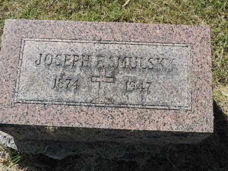 SMULSKY, JOSEPH E. - Franklin County, Ohio   JOSEPH E. SMULSKY - Ohio Gravestone Photos
