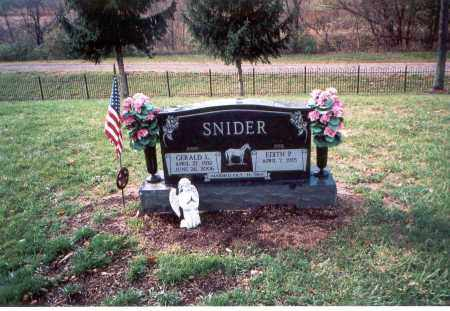SNIDER, EDITH P. - Franklin County, Ohio | EDITH P. SNIDER - Ohio Gravestone Photos