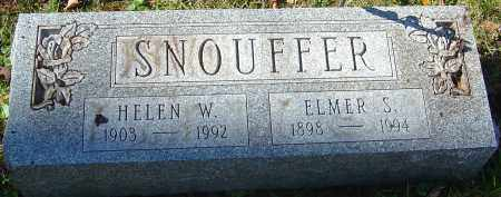 SNOUFFER, HELEN - Franklin County, Ohio | HELEN SNOUFFER - Ohio Gravestone Photos