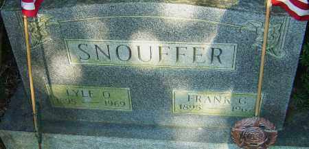 SNOUFFER, LYLE - Franklin County, Ohio | LYLE SNOUFFER - Ohio Gravestone Photos