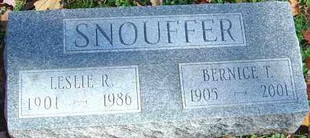 SNOUFFER, BERNICE - Franklin County, Ohio | BERNICE SNOUFFER - Ohio Gravestone Photos