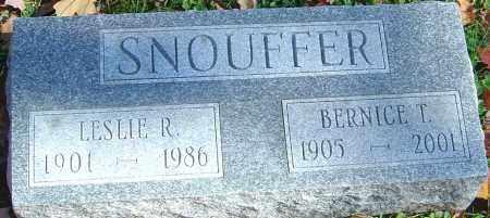SNOUFFER, LESLIE ROOSEVELT - Franklin County, Ohio   LESLIE ROOSEVELT SNOUFFER - Ohio Gravestone Photos