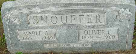 SNOUFFER, OLIVER CROMWELL - Franklin County, Ohio | OLIVER CROMWELL SNOUFFER - Ohio Gravestone Photos