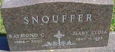 SNOUFFER, MARY LYDIA - Franklin County, Ohio | MARY LYDIA SNOUFFER - Ohio Gravestone Photos