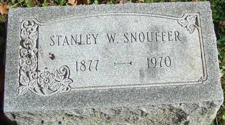 SNOUFFER, STANLEY WINFIELD - Franklin County, Ohio | STANLEY WINFIELD SNOUFFER - Ohio Gravestone Photos