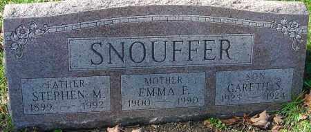 SNOUFFER, STEPHEN MONYPENEY - Franklin County, Ohio | STEPHEN MONYPENEY SNOUFFER - Ohio Gravestone Photos