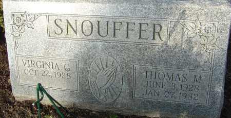 SNOUFFER, THOMAS MICHAEL - Franklin County, Ohio | THOMAS MICHAEL SNOUFFER - Ohio Gravestone Photos