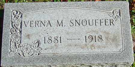 HARD SNOUFFER, VERNA M - Franklin County, Ohio | VERNA M HARD SNOUFFER - Ohio Gravestone Photos