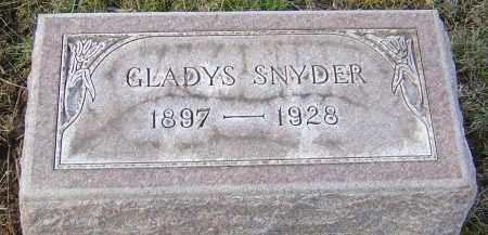 SNYDER, ANNA GLADYS - Franklin County, Ohio | ANNA GLADYS SNYDER - Ohio Gravestone Photos