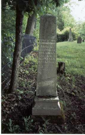 RAREY SOLOMON, CHRISTINA - Franklin County, Ohio | CHRISTINA RAREY SOLOMON - Ohio Gravestone Photos
