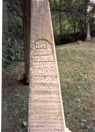 SOLOMON, REV. JOHN F. - Franklin County, Ohio | REV. JOHN F. SOLOMON - Ohio Gravestone Photos