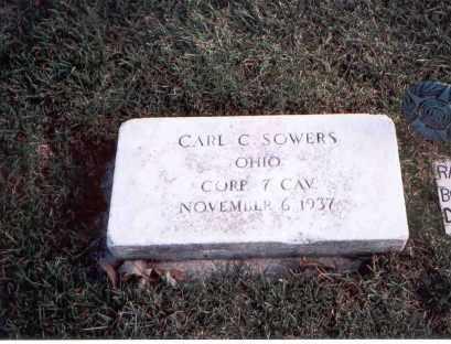SOWERS, CARL C. - Franklin County, Ohio | CARL C. SOWERS - Ohio Gravestone Photos