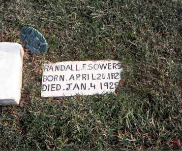 SOWERS, RANDALL F. - Franklin County, Ohio | RANDALL F. SOWERS - Ohio Gravestone Photos