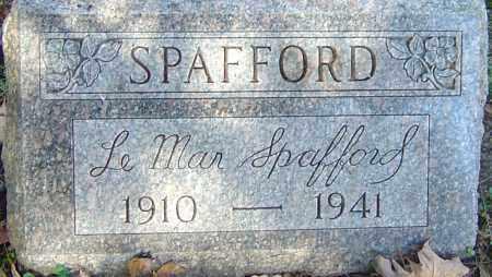 SPAFFORD, LEMAR - Franklin County, Ohio   LEMAR SPAFFORD - Ohio Gravestone Photos