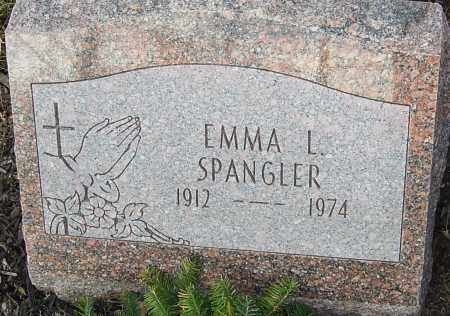 SPANGLER, EMMA L - Franklin County, Ohio   EMMA L SPANGLER - Ohio Gravestone Photos