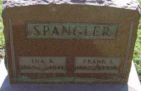 WELLER SPANGLER, IDA BELLE - Franklin County, Ohio | IDA BELLE WELLER SPANGLER - Ohio Gravestone Photos