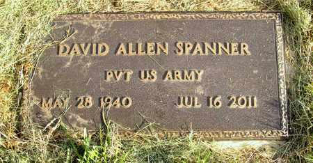 SPANNER, DAVID ALLEN - Franklin County, Ohio | DAVID ALLEN SPANNER - Ohio Gravestone Photos