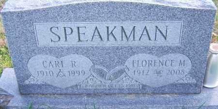 SPEAKMAN, FLORENCE - Franklin County, Ohio | FLORENCE SPEAKMAN - Ohio Gravestone Photos