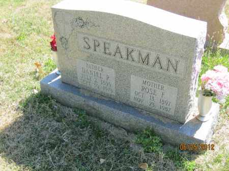 RIEDMILLER SPEAKMAN, ROSE FRANCES - Franklin County, Ohio | ROSE FRANCES RIEDMILLER SPEAKMAN - Ohio Gravestone Photos