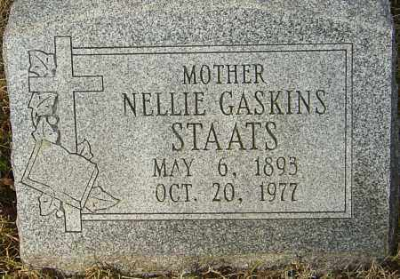 GASKINS STAATS, NELLIE - Franklin County, Ohio | NELLIE GASKINS STAATS - Ohio Gravestone Photos
