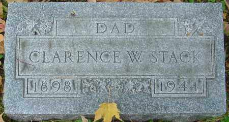 STACK, CLARENCE W - Franklin County, Ohio | CLARENCE W STACK - Ohio Gravestone Photos