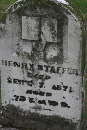 STAFFER, HENRY - Franklin County, Ohio | HENRY STAFFER - Ohio Gravestone Photos