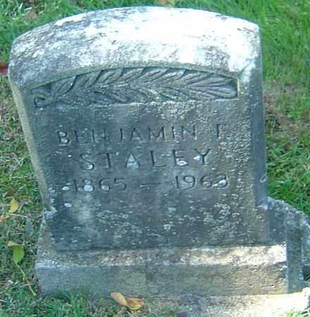 STALEY, BENJAMIN FRANKLIN - Franklin County, Ohio | BENJAMIN FRANKLIN STALEY - Ohio Gravestone Photos