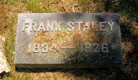 STALEY, FRANK - Franklin County, Ohio | FRANK STALEY - Ohio Gravestone Photos
