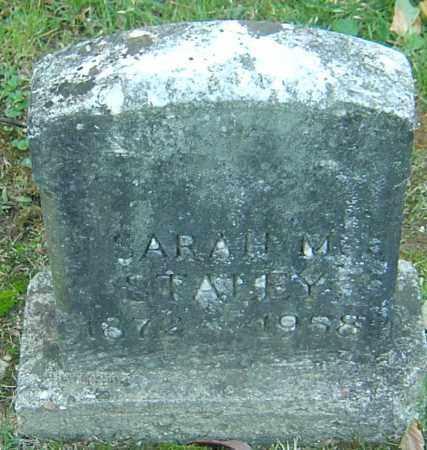 STALEY, SARAH M - Franklin County, Ohio   SARAH M STALEY - Ohio Gravestone Photos
