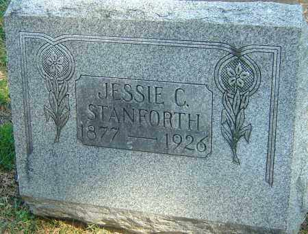 STANFORTH, JESSIE CHRISTINA - Franklin County, Ohio | JESSIE CHRISTINA STANFORTH - Ohio Gravestone Photos