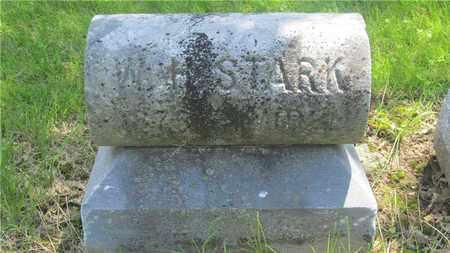 STARK, W.H. - Franklin County, Ohio | W.H. STARK - Ohio Gravestone Photos