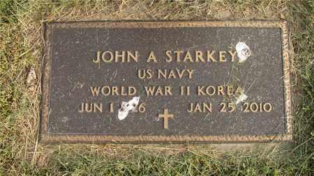 STARKEY, JOHN A. - Franklin County, Ohio   JOHN A. STARKEY - Ohio Gravestone Photos
