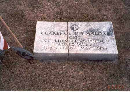 STARLING, CLARENCE T. - Franklin County, Ohio | CLARENCE T. STARLING - Ohio Gravestone Photos